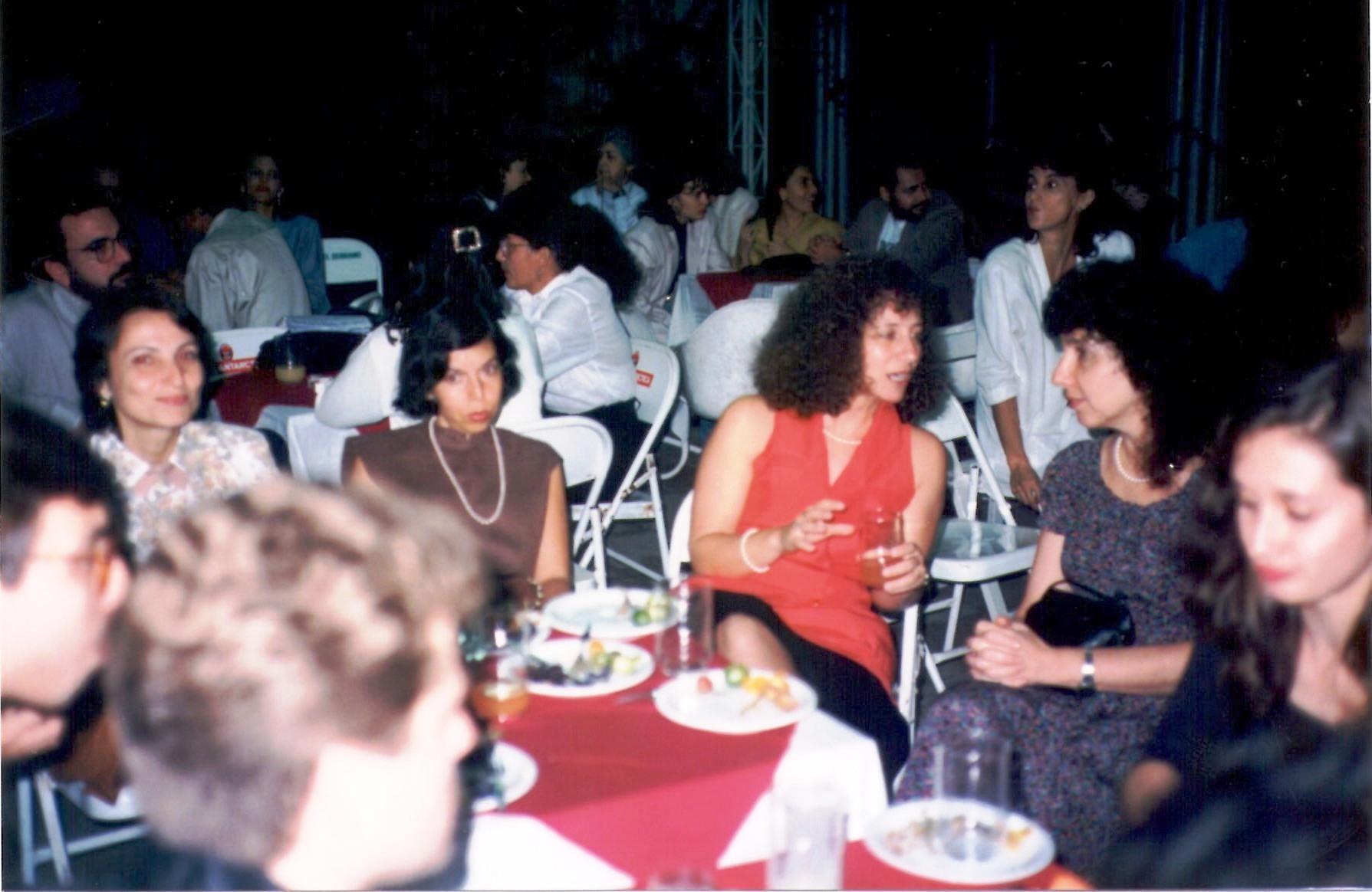 Coquetel de Abertura – Cida Livi, Ana Maria Moura, Lia Golendziner, Sinia