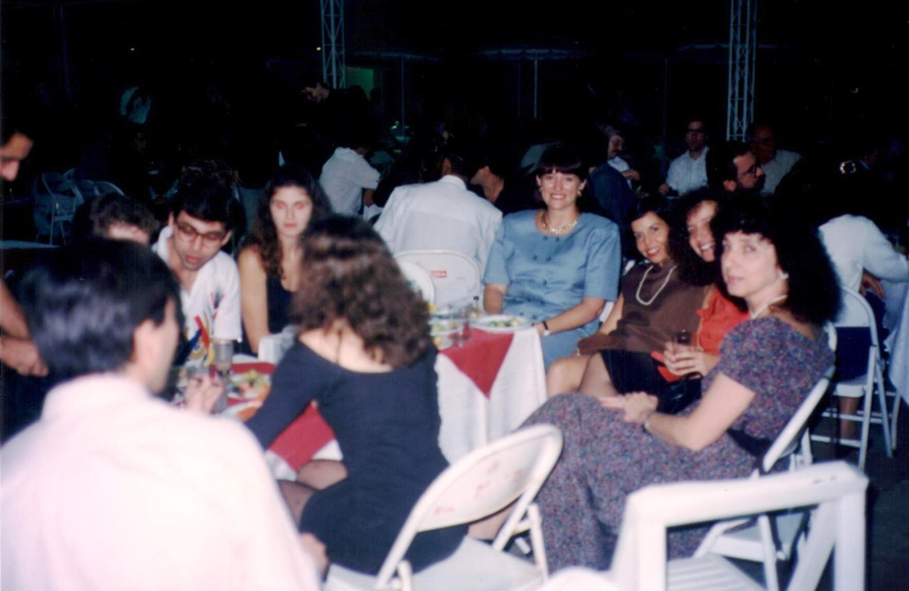 Coquetel de Abertura – Nina Edelweiss, Ana Maria Moura, Lia Golendziner, Sinia