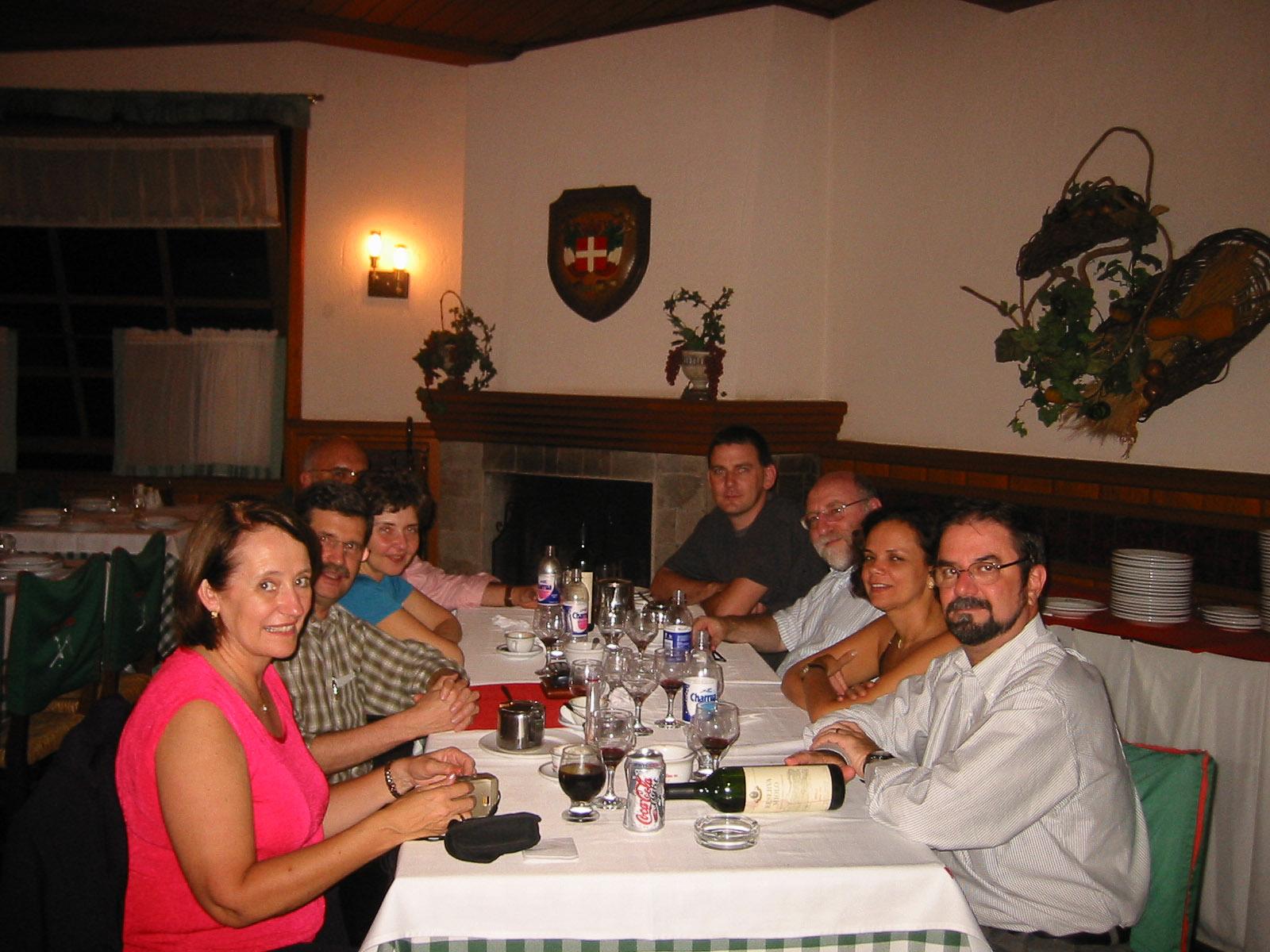 Jantar com convidados