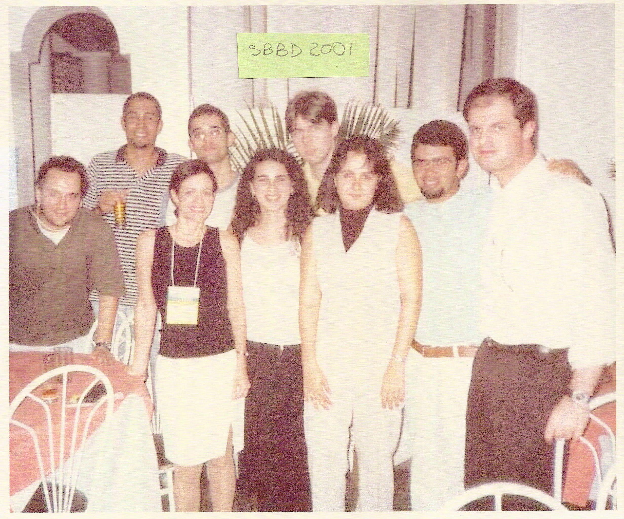 Jantar – Marta Mattoso e alunos