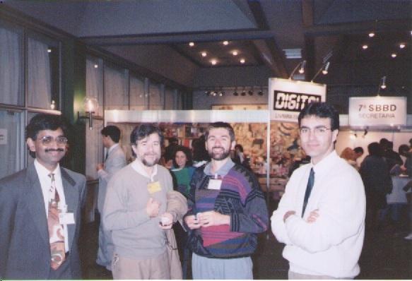 Mohan, Castilho, Bernhard Mitschang e Nelson Mattos